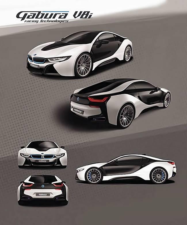BMW i8 With V8 Twin-Turbo Engine