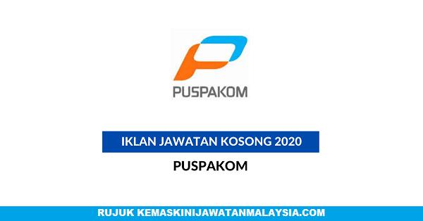 JAWATAN KOSONG PUSPAKOM 2020