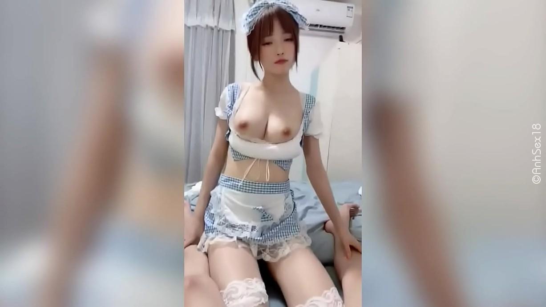 AnhSex.In - Ảnh sex Phang em hầu gái nhí nhảnh
