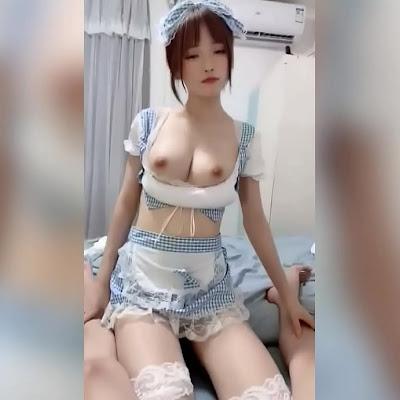 AnhSex18 - Phang em hầu gái nhí nhảnh hồn nhiên