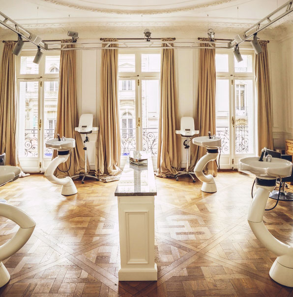 Beauty | Places: At the Balmain Hair Couture Salon, Paris