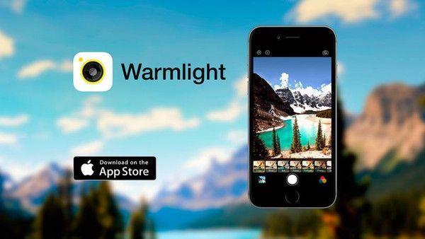 اقوى برنامج تعديل الصور على أجهزة آيفون WarmLight