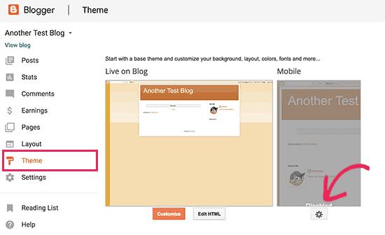 Edit Your Blog Theme - Blogger Zune
