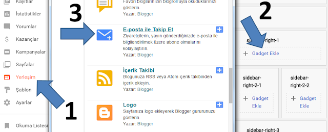 """""""E-posta ile Takip Et"""" eklentisini Türkçeleştirme"""