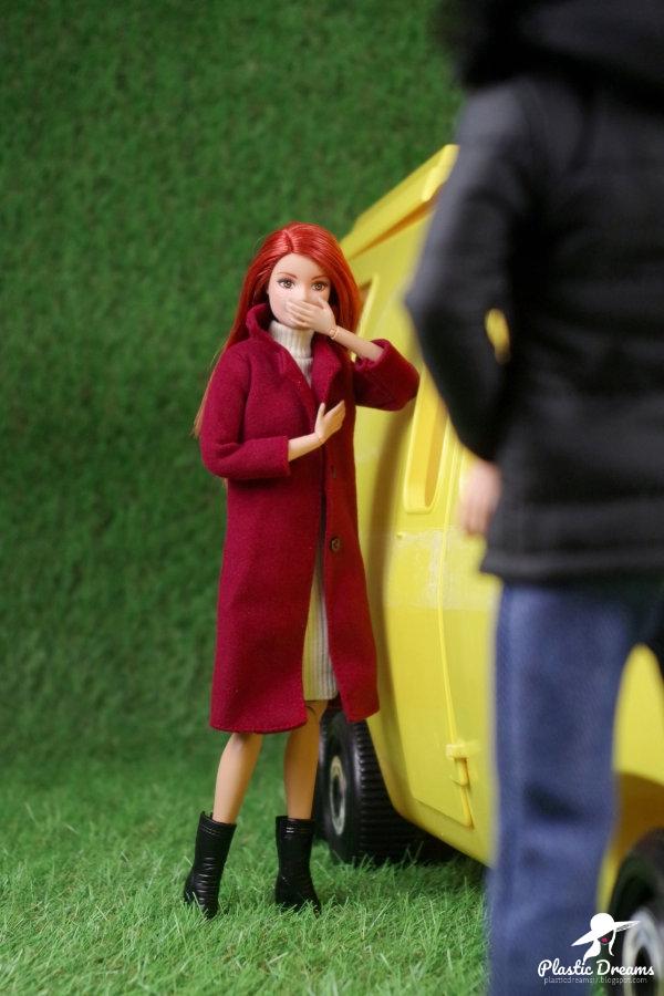 barbie et ken camping car