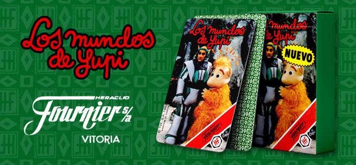 Baraja Los mundos de Yupi (H. Fournier, 1988)