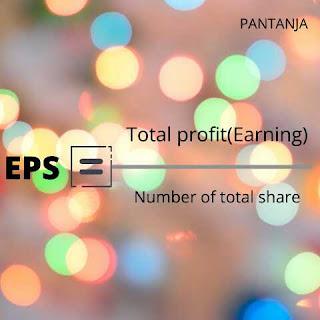 Earning per share formula