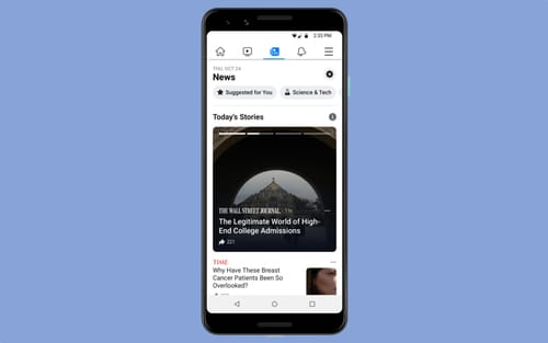 Facebook announces the launch of its news service in more countries