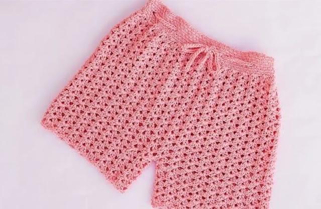 Tutorial Pantalón Corto o Short a Crochet Paso a Paso