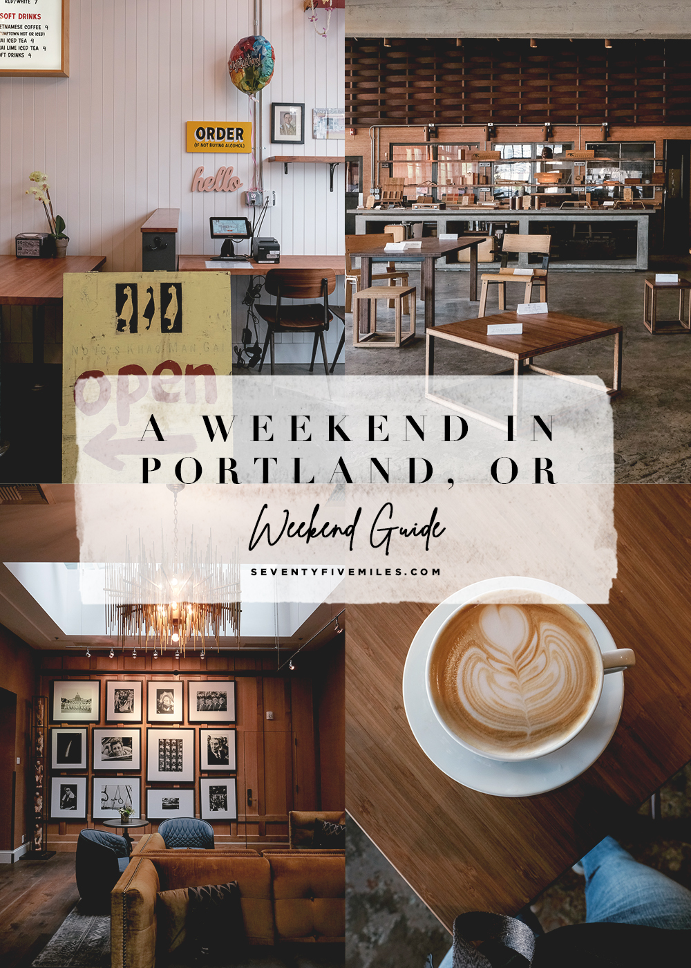 3-day Weekend Getaway to Portland, Oregon