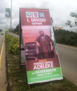 Davido endorse uncle for Osun state Governor