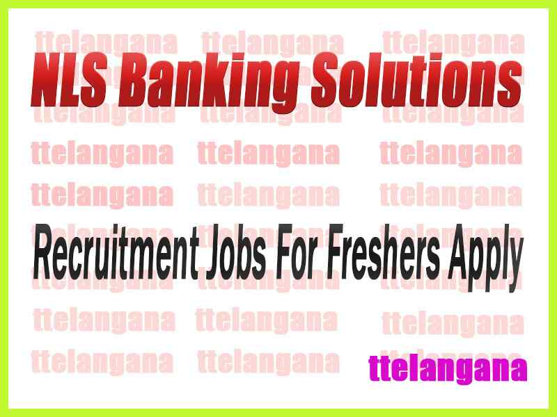 NLS Banking Solutions Recruitment Jobs For Freshers Apply