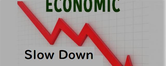 経済活動のスローダウン
