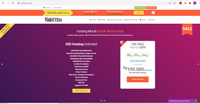 hoster hosting terbaik unlimited