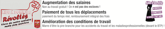 AUGMENTATION DES SALAIRES, PAIEMENT DE TOUS LES DEPLACEMENT, CONDITIONS DE TRAVAIL