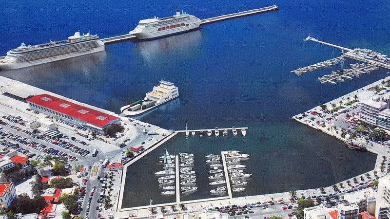 Στο λιμάνι της Καβάλας τα έργα, στο λιμάνι της Αλεξανδρούπολης τα «θα, θα, θα»