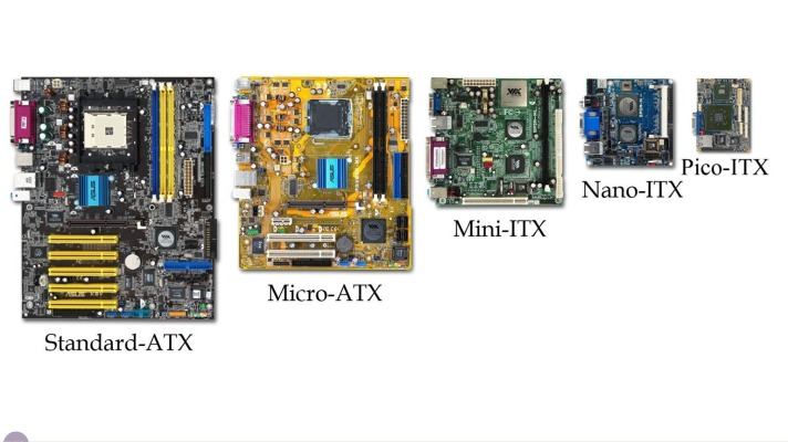 different types of motherboard