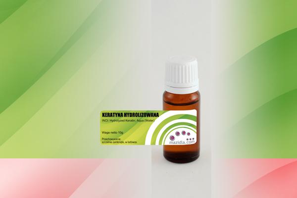 keratyna hydrolizowana na włosy