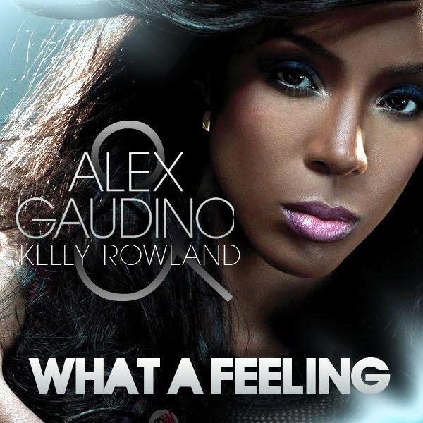 Alex gaudino ft. Kelly rowland what a feeling (lyrics on screen.