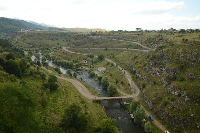 Carreteras en Armenia