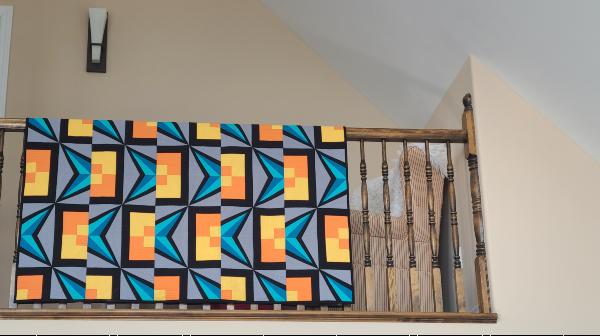Fifty-Fifty quilt pattern | DevotedQuilter.com