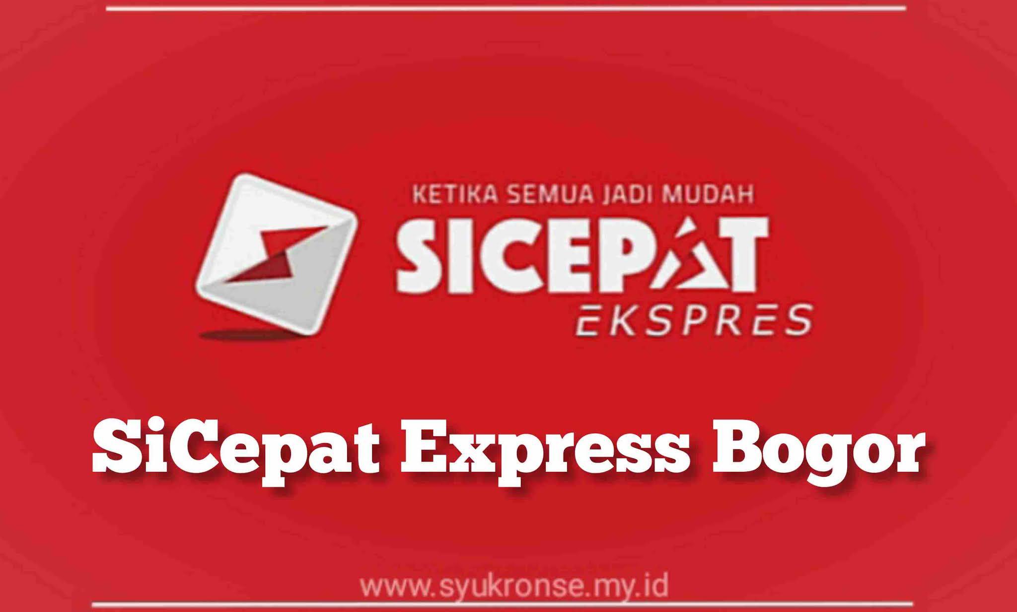 SiCepat Express Bogor