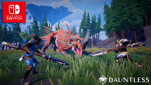 Dauntless, el RPG  free2play, ya está disponible en Nintendo Switch.
