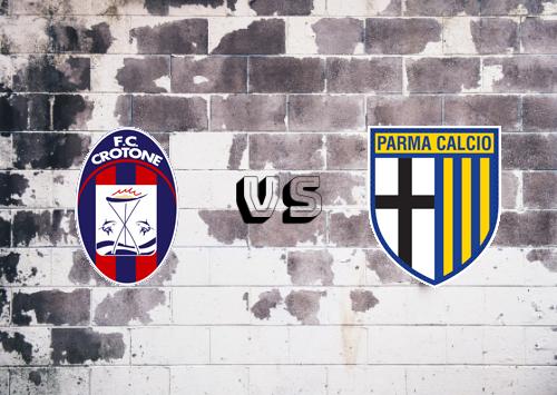 Crotone vs Parma  Resumen