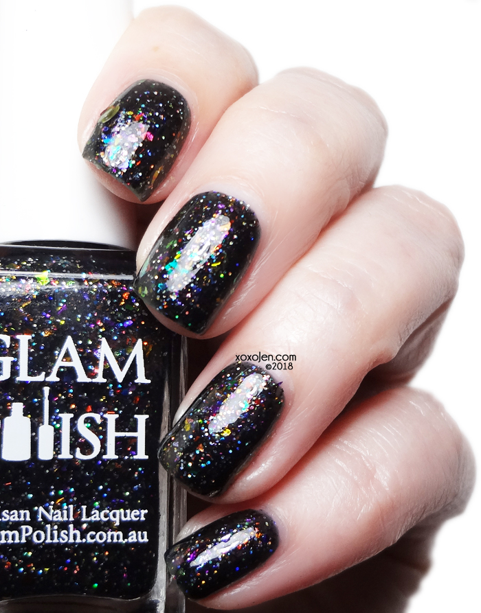 xoxoJen's swatch of Glam Polish What's This? What's This?