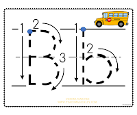 Teach Magically Helping Beginning Readers B Bus Picture