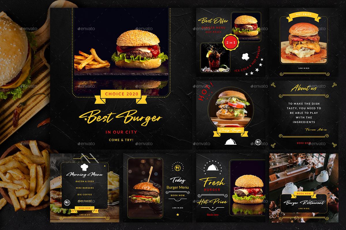 Burger Restaurant Instagram Posts%2526Stories 26312636 j%2B %2BCopy