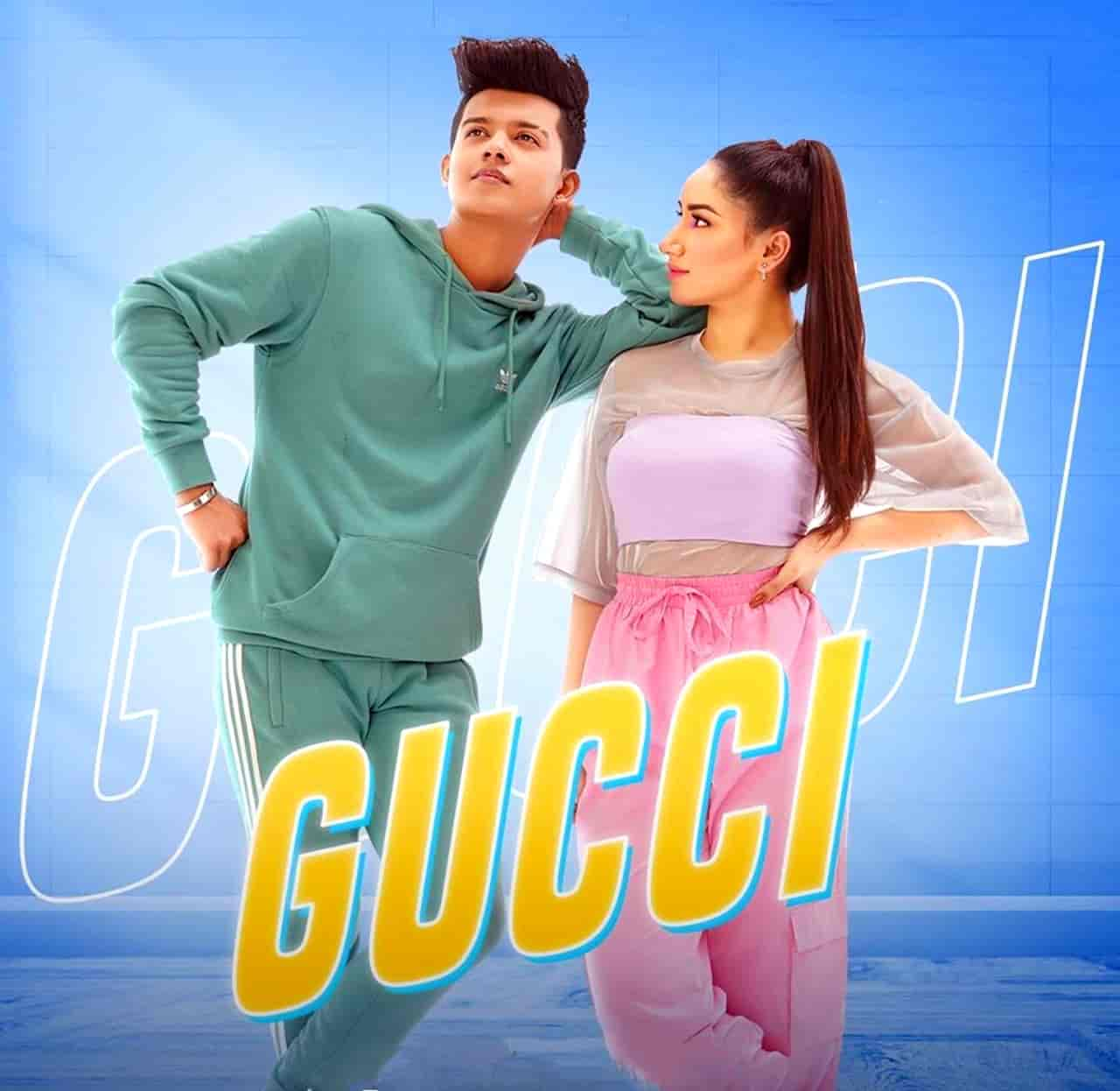Gucci Song Image Features Aroob Khan and Riyaz Aly