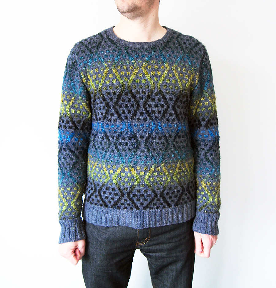Balkan by Brandon Mably, knit by Dayana Knits