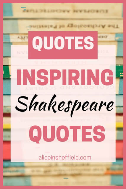 Inspiring Quotes by Shakespeare