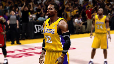 NBA 2K13 Dwight Howard LA Lakers Update