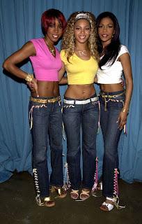 jeans de cintura baixa anos 90