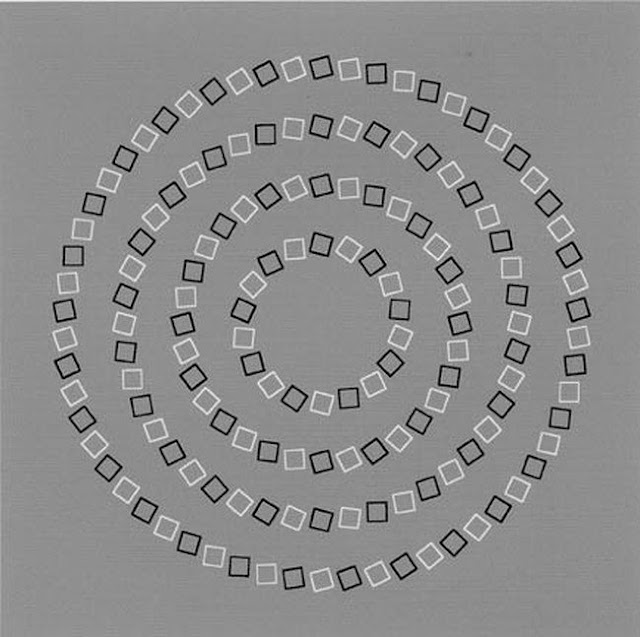 Optical Illusion Concentric Circles