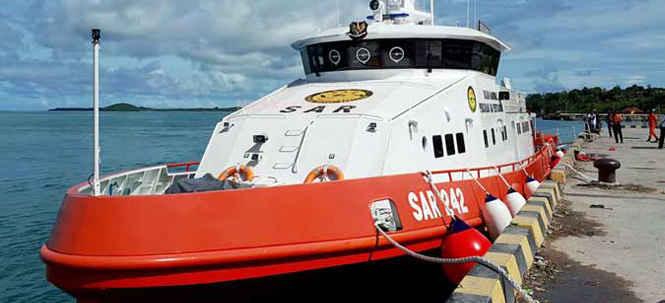 Badan Nasional Pencarian dan Pertolongan (BNPP/Basarnas) Ambon menerima bantuan satu Kapal Negara Bharata 242 guna mendukung operasi pencarian dan penyelamatan.