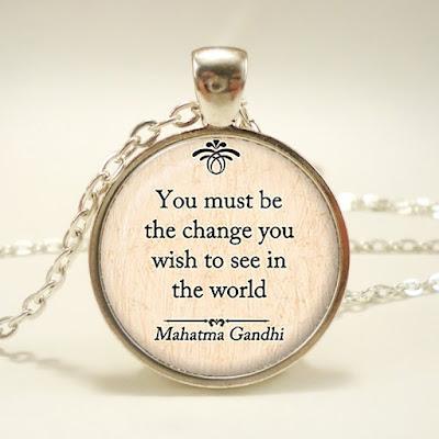 kutipan bijak tentang lingkungan dari Mahatma Gandhi