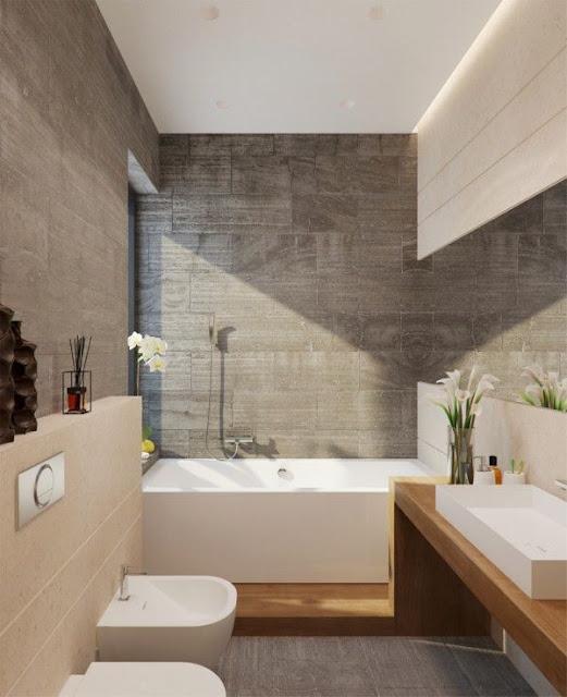 White Bathroom Tiles Design