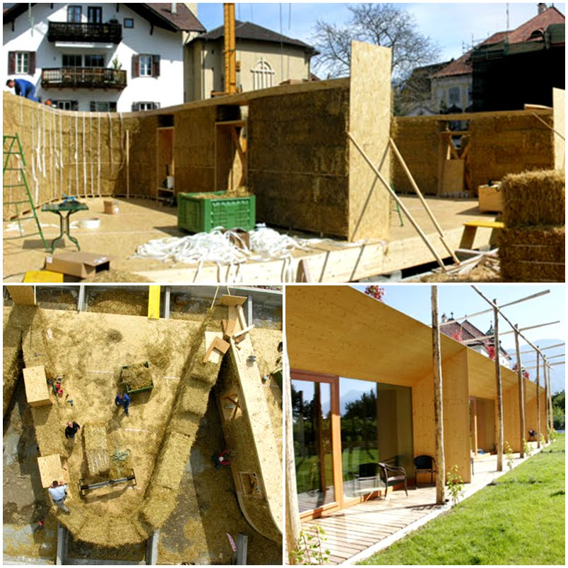 Costruire in paglia spazioibrido - Costruire casa paglia ...