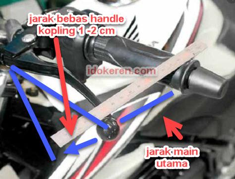 Jarak Bebas Kopling Pada Sepeda Motor