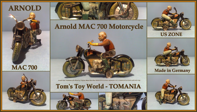 TOM'S TOY & RADIO WORLD TOMANIA **: ARNOLD GERMANY