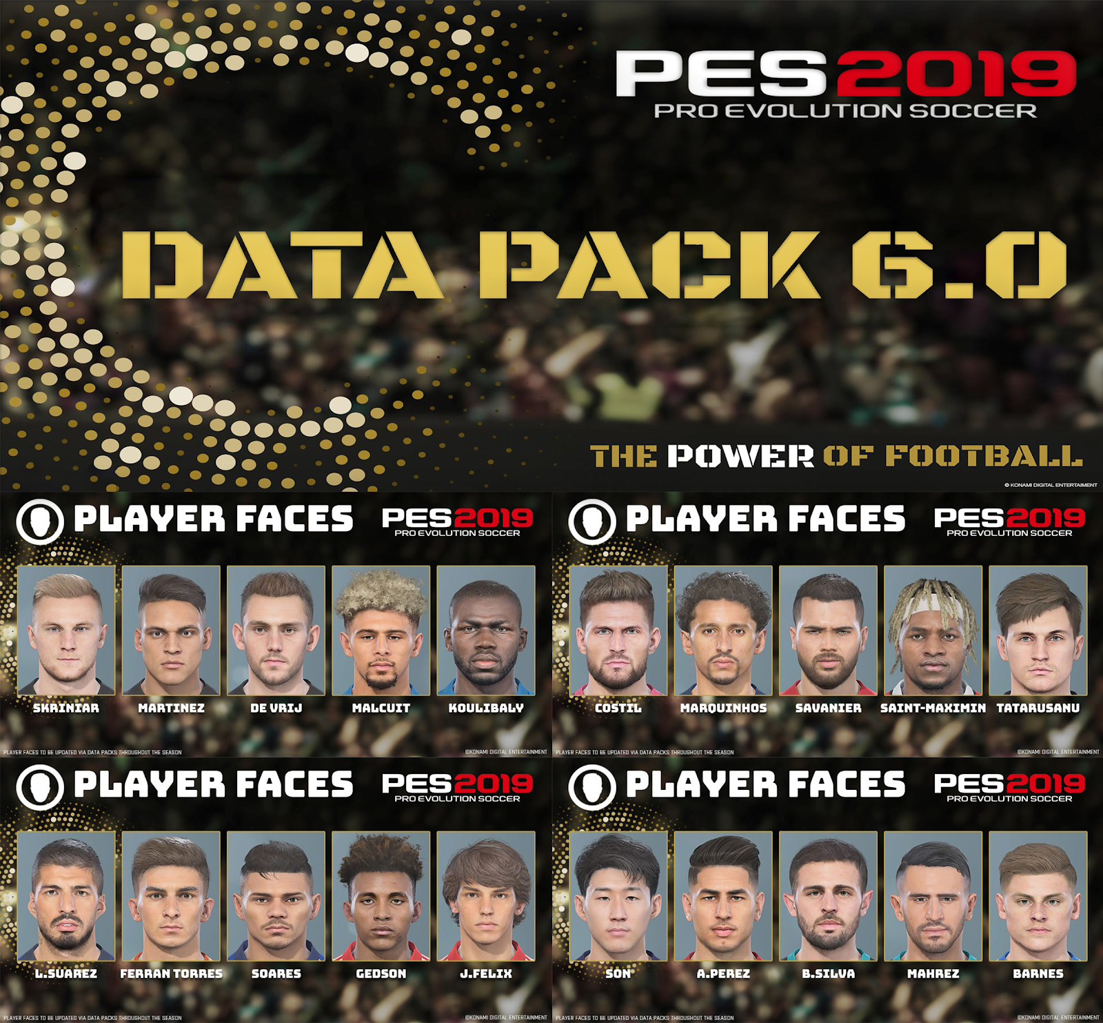 PES ANDRI: PES 2019 Data Pack 6 0 For CPY Version
