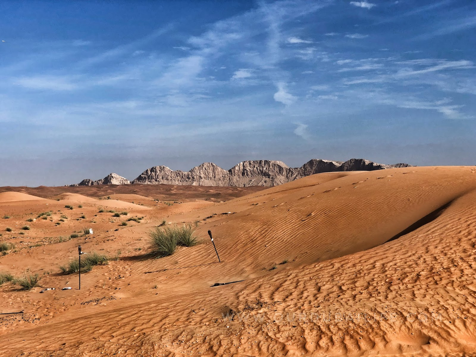 Exploring the UAE Desert https://www.ourdubailife.com