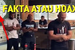 Check Fakta Mike Tyson Sholat Di Cafe Anti Islam