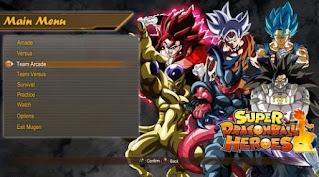 SUPER DRAGON BALL HEROES MUGEN V2 [DIRECTX]