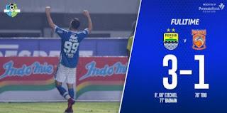 Hasil Persib Bandung vs Borneo FC 3-1 Liga 1 Sabtu 21/4/2018.