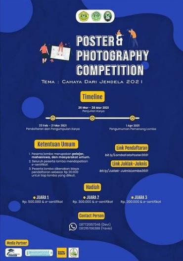 "Poster & Photography Competition ""Cahaya dari Jendela 2021""*"