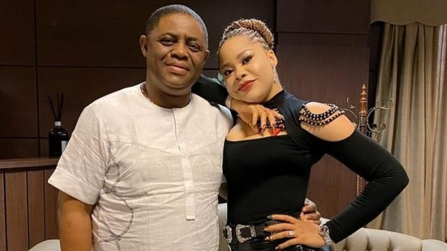 See Femi Fani-kayode's reaction after catching wife in bed with another man (video)